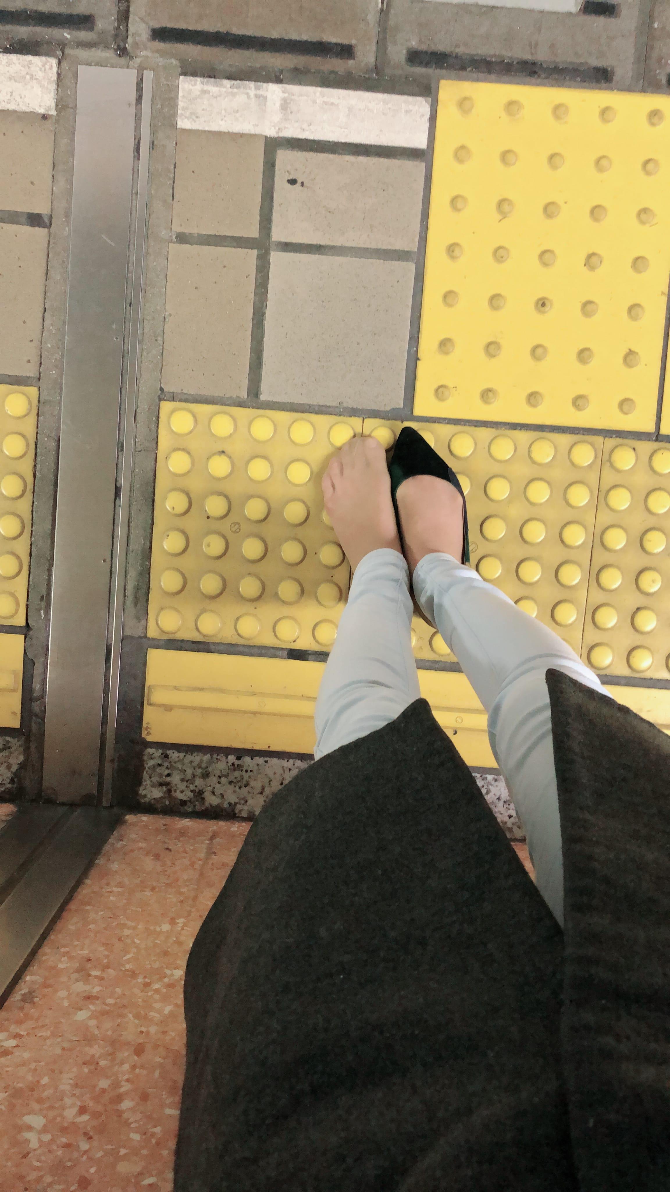 「ホームに靴落とした」01/24(01/24) 00:08 | はづきの写メ・風俗動画