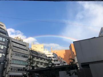 「虹?」10/20(水) 18:29 | かぐやの写メ日記