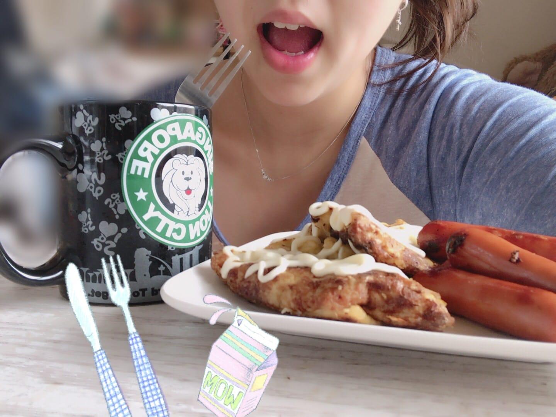 「ご飯たべよーう!」04/26(04/26) 15:41   みずはの写メ・風俗動画