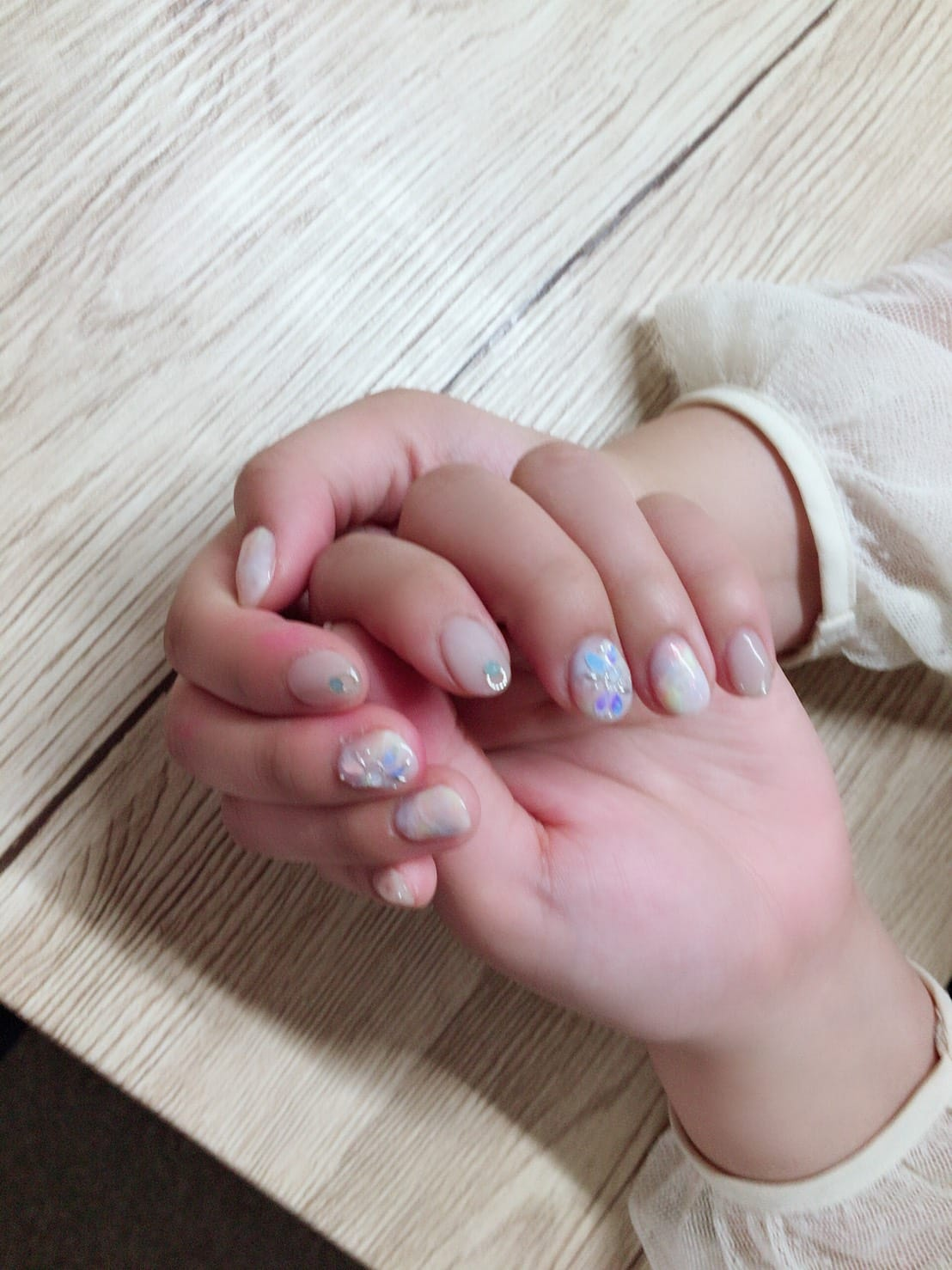 「new_nail_♡」05/15(05/15) 06:49 | みるくちゃんの写メ・風俗動画
