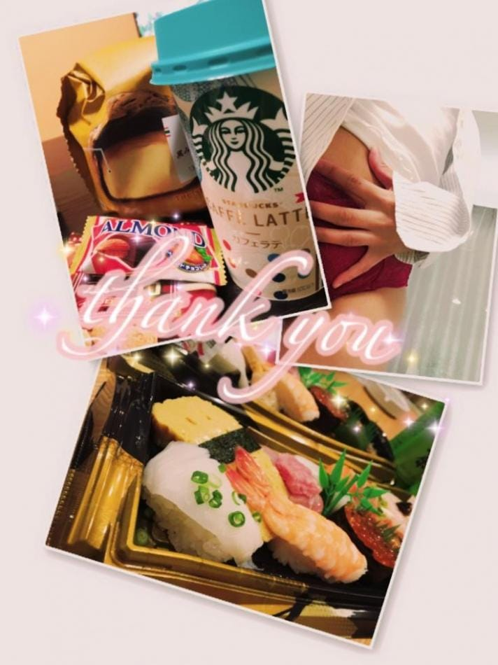 「Thank you♪」06/30(06/30) 11:55   陵華-りょうか-の写メ・風俗動画