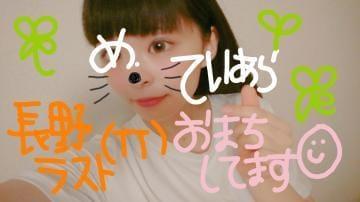 「長野最終日ですっ!」08/12(08/12) 19:10   てぃあら☆長野一神可愛い18歳☆の写メ・風俗動画