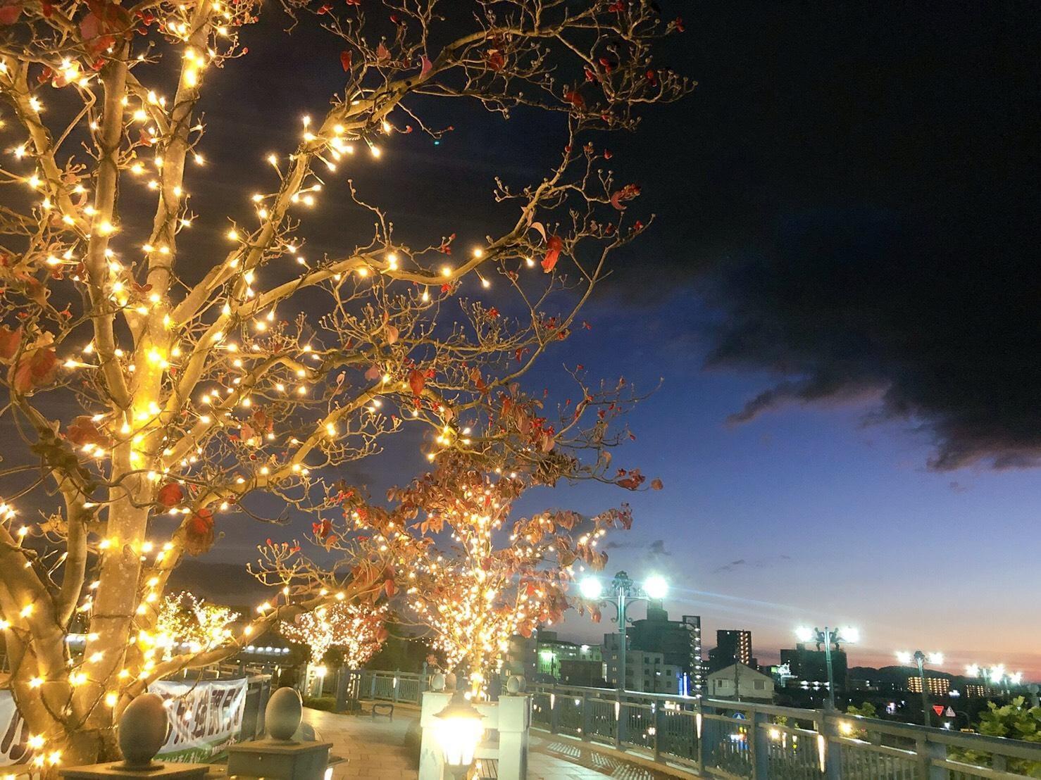 「秋空と雨雲とイルミネーション」11/29(11/29) 20:30 | こころの写メ・風俗動画