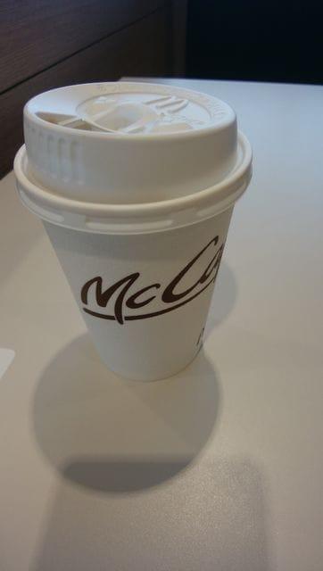「マクドナルド行ったら、ただでコーヒーくれた」10/16(10/16) 19:36 | あいの写メ・風俗動画