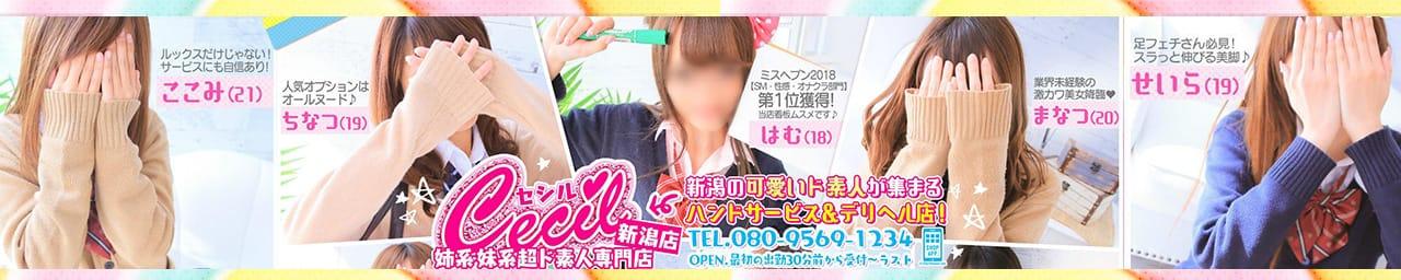 CECIL 新潟店~姉系・妹系超ド素人専門店