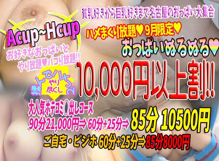 巨乳美乳専門店~激安おっぱいPREMIUM~かわいいは正義!!?本店 - 名古屋