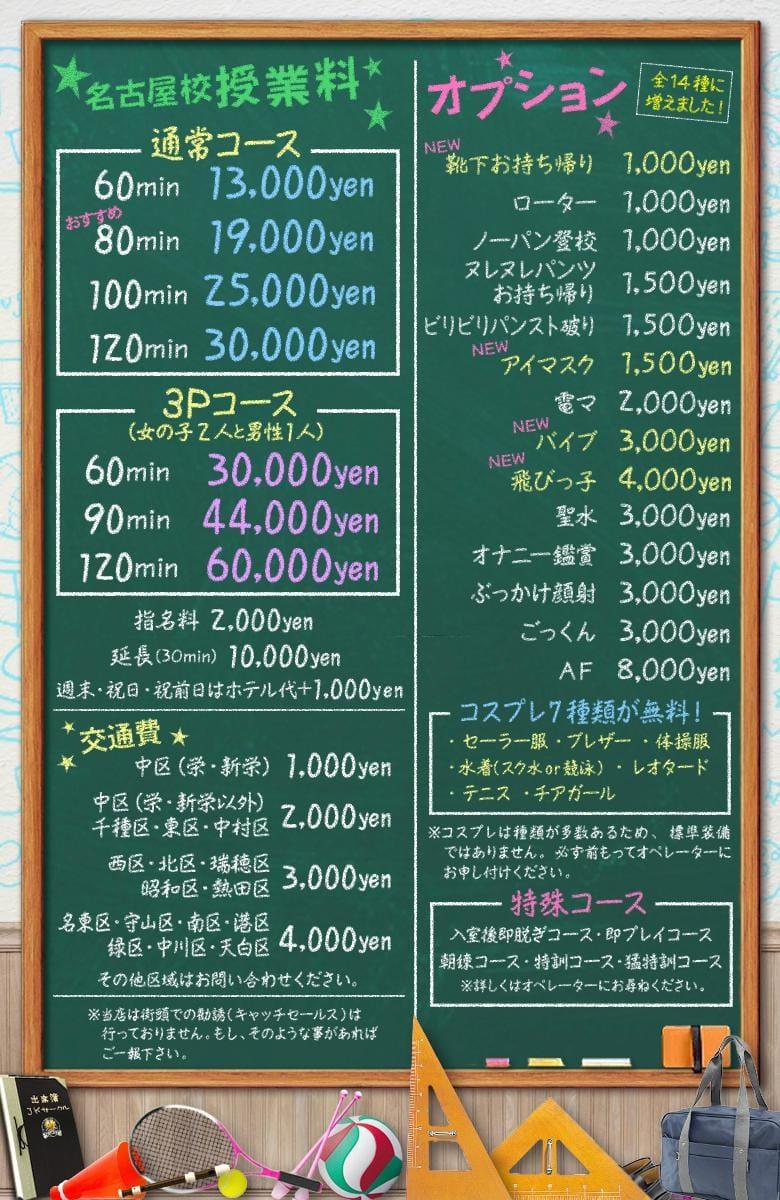 【JKサークル】の料金システム