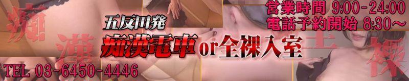 五反田発 痴漢電車or全裸入室 - 五反田